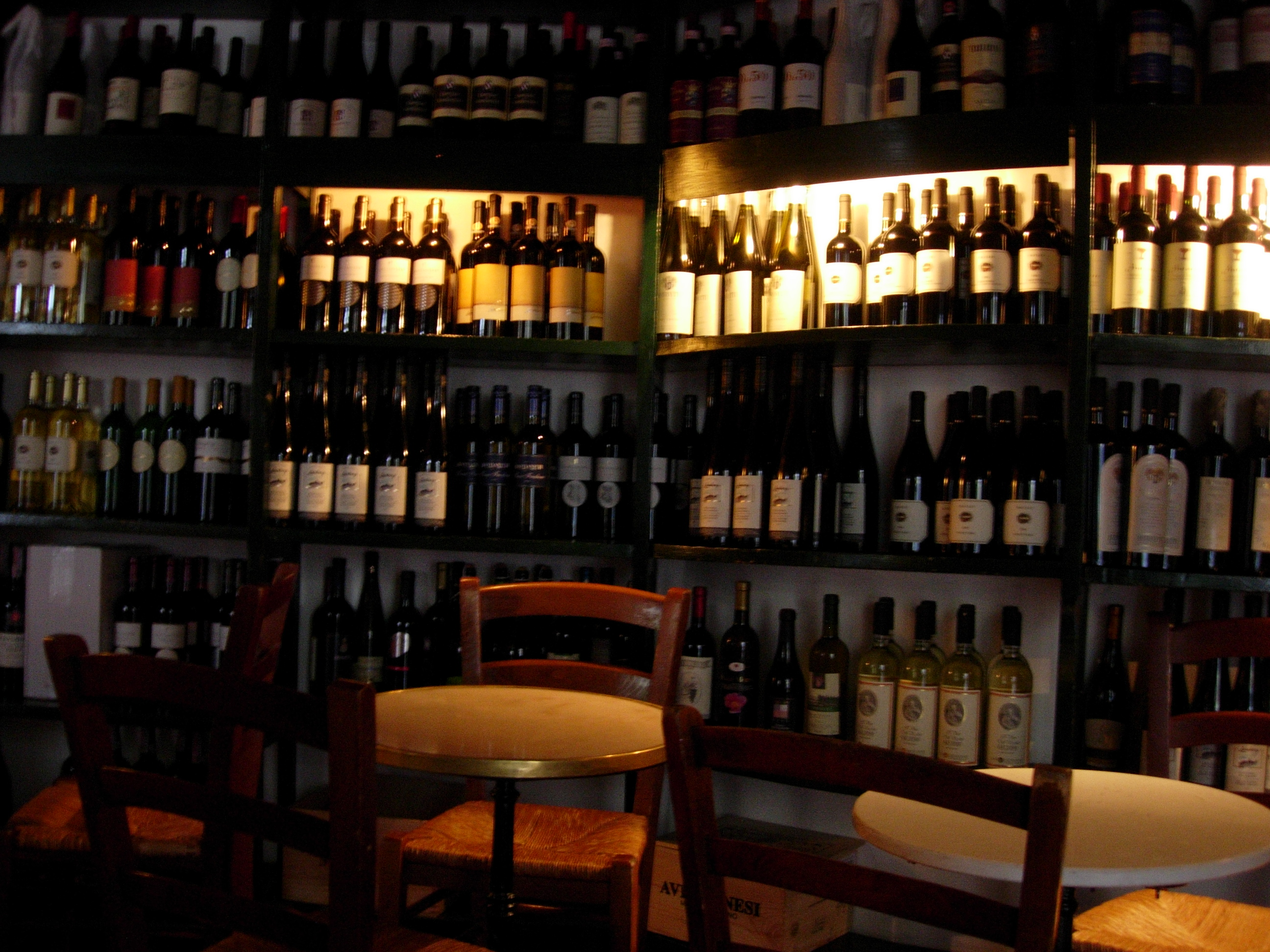 Wine Bar Had We But World Enough And Time